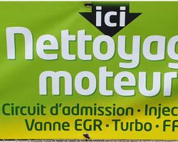 Garage Moulin - Charolles - Nettoyage du moteur
