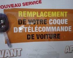 Garage Moulin - Charolles - Changement de la coque d'une télécommande de voiture